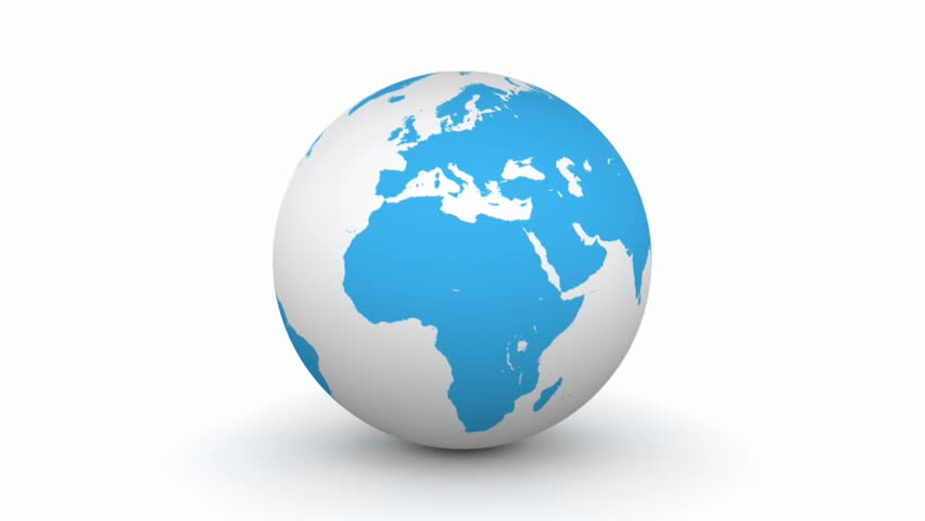 A turning blue 3d globe stock footage video 604471 shutterstock gumiabroncs Choice Image