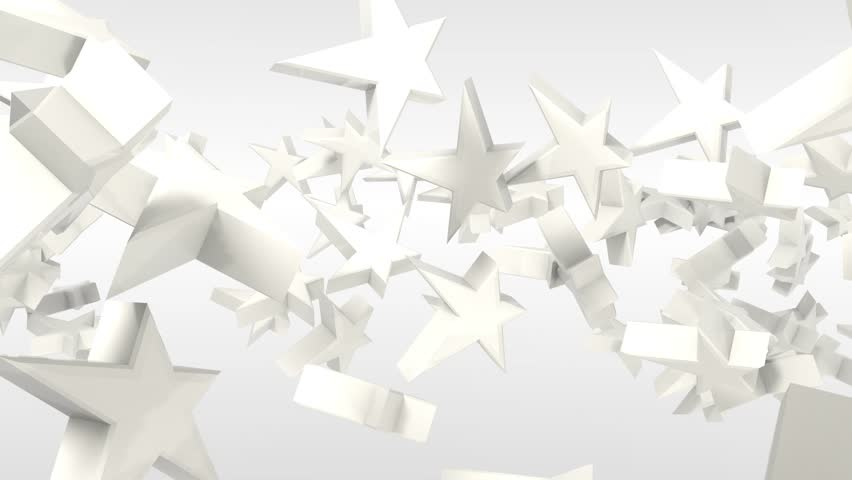 3D FLYING STARS | Shutterstock HD Video #6083531