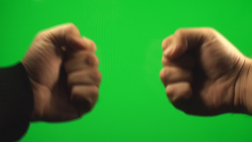Rock, Paper, Scissor, Hands Playing On Green Screen,Chroma, Key, Gesture | Shutterstock HD Video #6102431