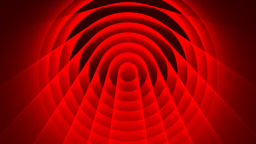 Deco Deep Red Looping Abstract Background 15 lossless png