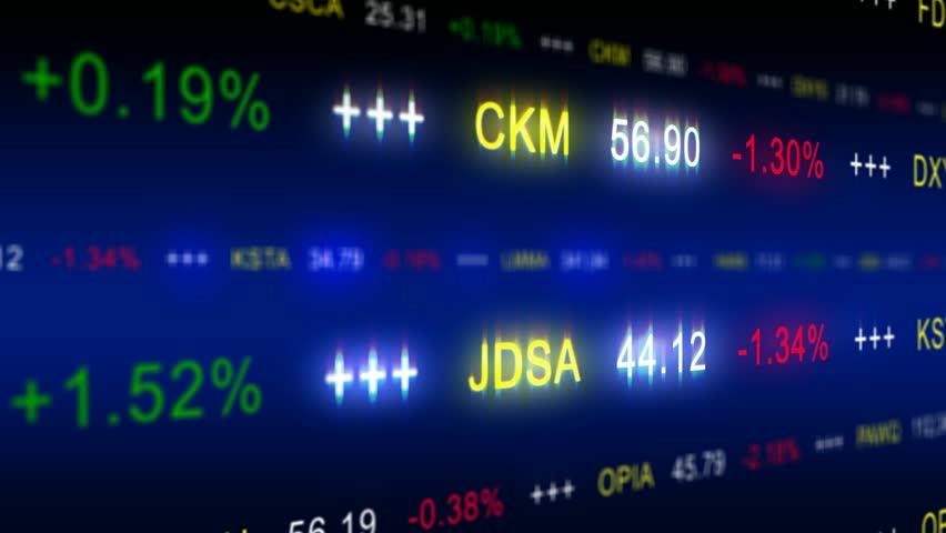 Stock market ticker - loop albe | Shutterstock HD Video #6109511