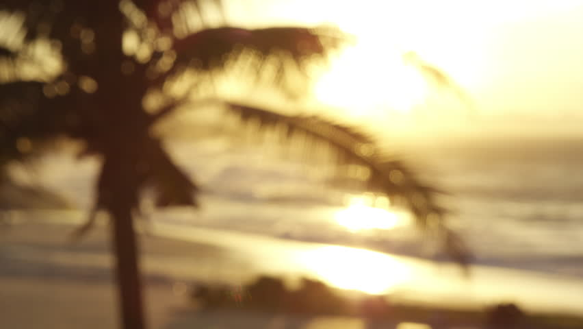 People enjoying sunset over Ipanema beach