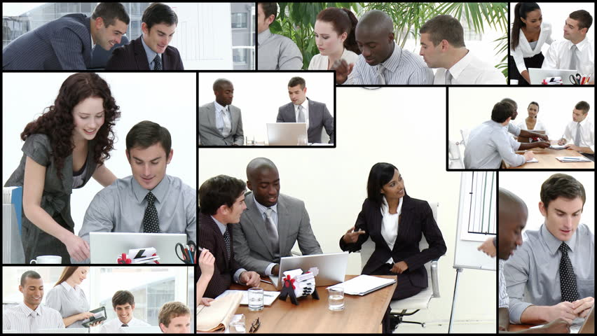 Team brainstorming in High definition video format   | Shutterstock HD Video #612031