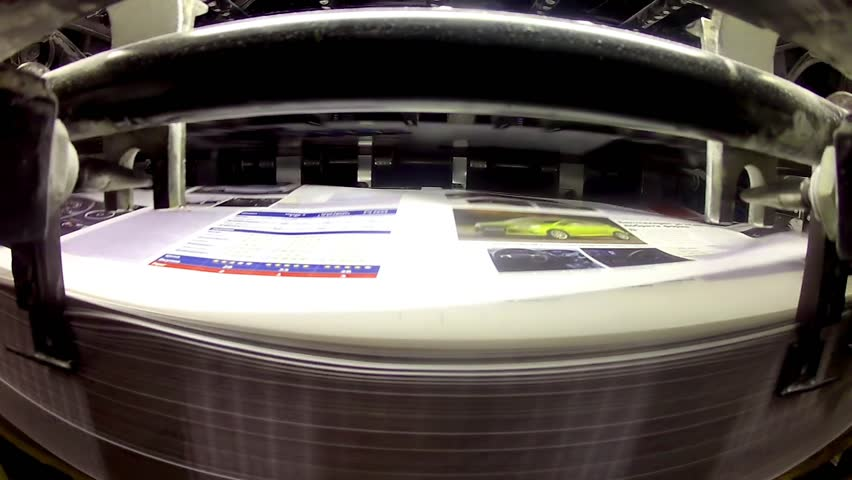 Printing Plant Sheet Fed Machine Stock Footage Video (100% Royalty-free)  6144071 | Shutterstock