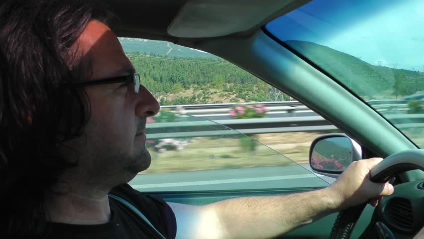 Man Driving #6482741