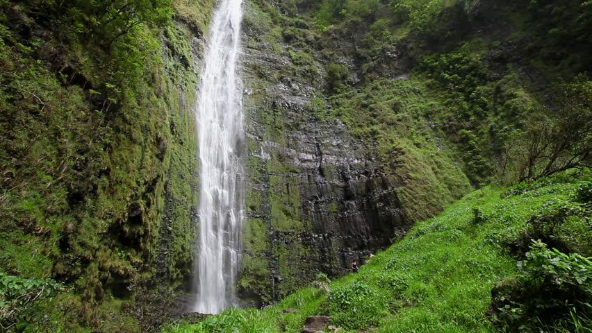 Waimoku Falls Hawaii shot with Canon 5D MkII using Canon L-series lens #6495431
