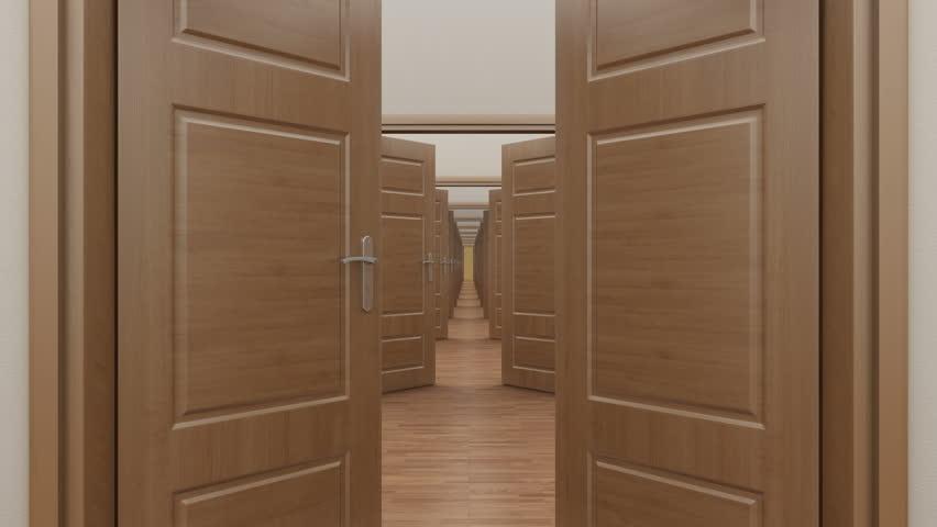Stock video of pass enfilade open 2 doors. alpha | 6548981 | Shutterstock & Stock video of pass enfilade open 2 doors. alpha | 6548981 ...