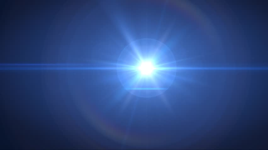 Abstract blue lens flair background, with a sci-fi solar science style  | Shutterstock HD Video #6623621