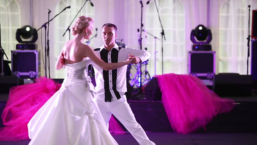 Elements Of A Cute Wedding Dance At The Reception