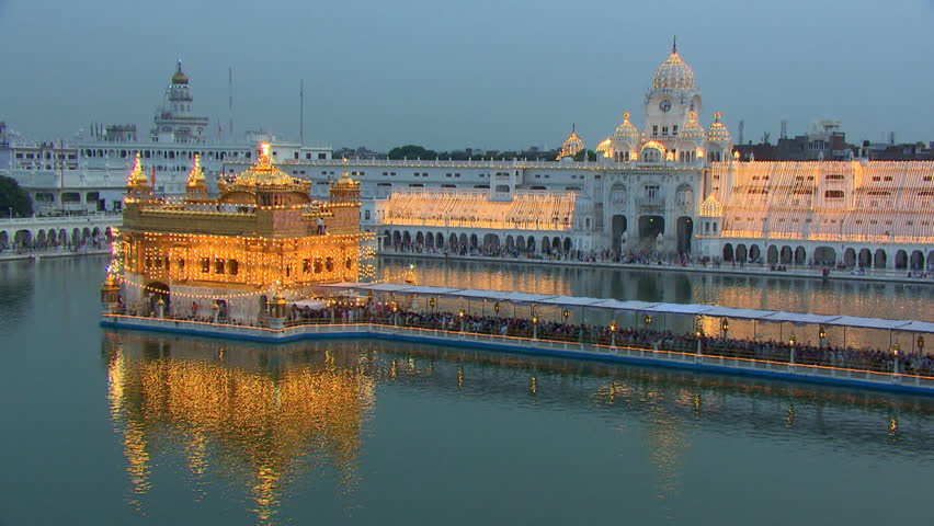 Golden Temple Day To Night Stock Footage Video 100 Royalty Free