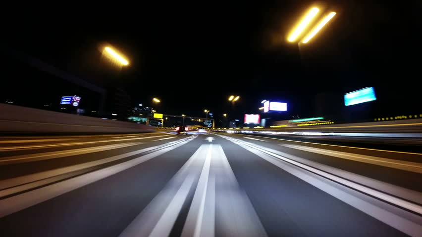 Timelapse of driving action around the Tokyo metropolitan highway and surrounding. | Shutterstock HD Video #6772471