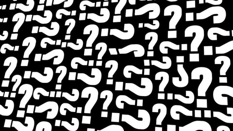 Terrific background for question and answer period. Animated question marks rotate. Three versions, light monochrome, gold on yellow and a matte to put over your own backing. Loops.