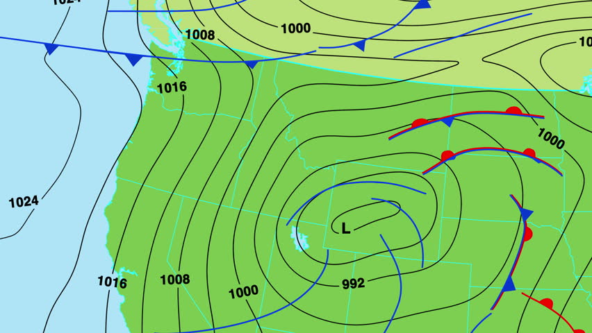 Animated Weather Forecast Map Of Central And North Europe Great - Euro weather map us