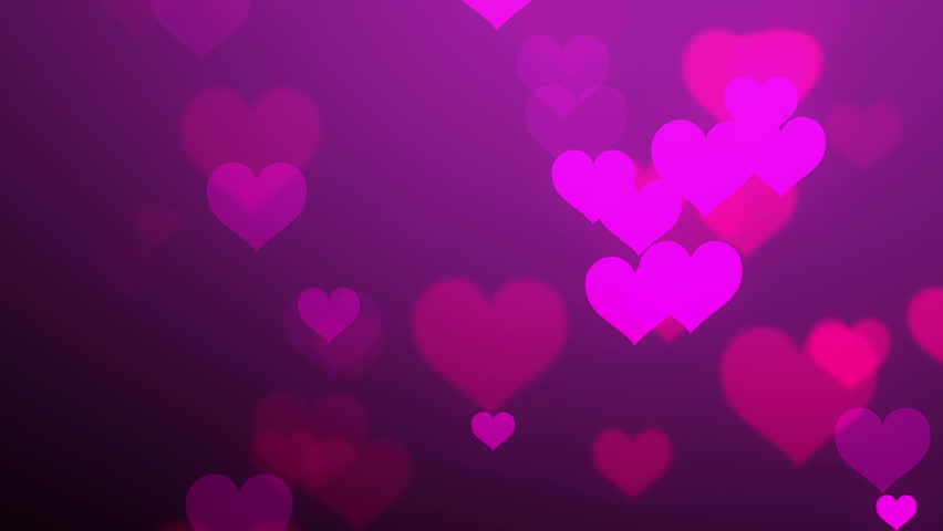 wallpapers purple hearts pink - photo #37