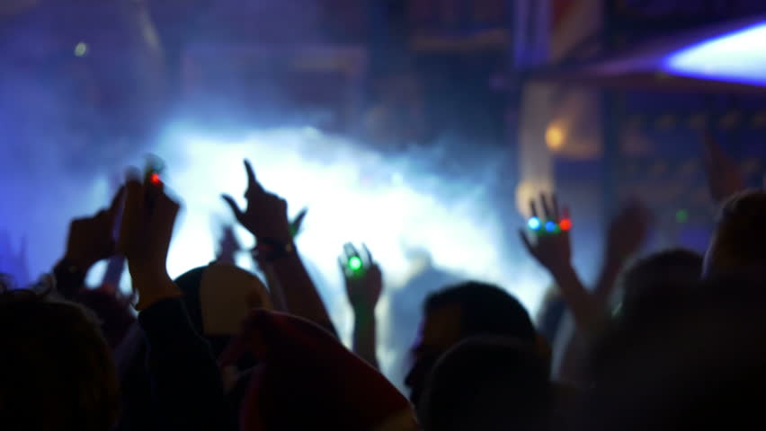 4k Dancing Crowd at Party Stock Footage Video (100% Royalty-free) 7188451 |  Shutterstock