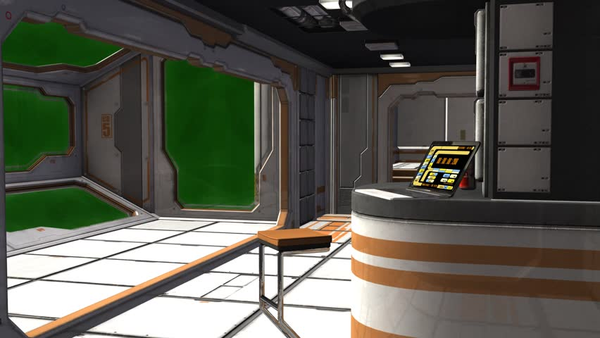 Scifi Spaceship Room   Video Background   Green Screen Stock Footage Video  7192411 | Shutterstock