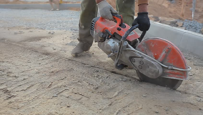 резка швов в бетоне