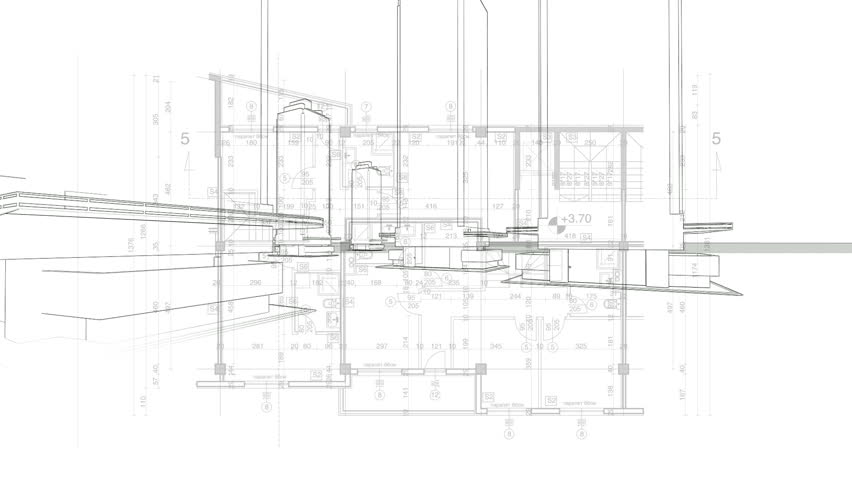 Abstract architecture background blueprint house plan with sketch abstract architecture background blueprint house plan with sketch of city animated in background hd malvernweather Choice Image