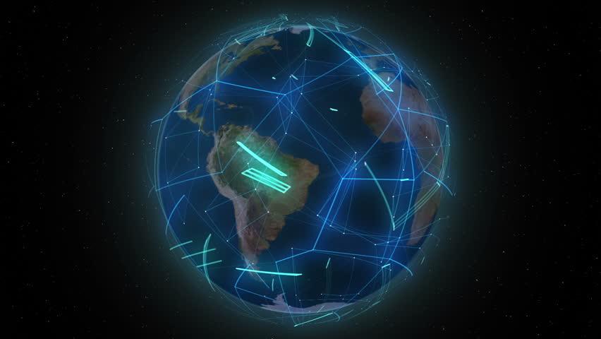 World Wide Lines | Shutterstock HD Video #7316821