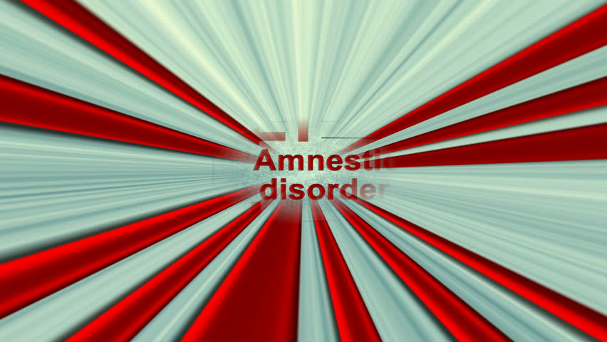 amnestic disorder The predominant disturbance of dissociative amnesia is one or more episodes of inability to recall important personal information, usually of a traumatic or stressful nature, that is too extensive.