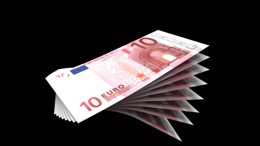 Loop of Euros  Embedded Alpha Stock Footage Video (100% Royalty-free) 7331  | Shutterstock