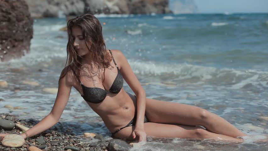 Bikini girls cute skinny