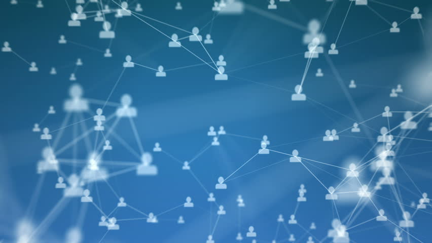 Abstract visualization of a social network. | Shutterstock HD Video #7443229