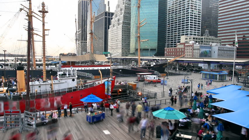 South Street Seaport time lapse