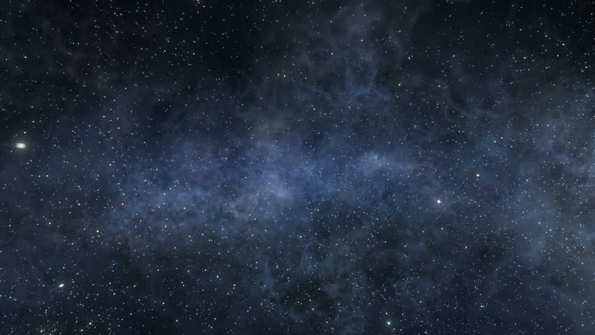 Space part two. Flight through the depths of outer space. New stars and nebulas patterns. More color variations. | Shutterstock HD Video #7585801