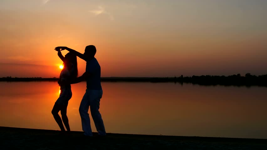 Image result for couple dancing sunset