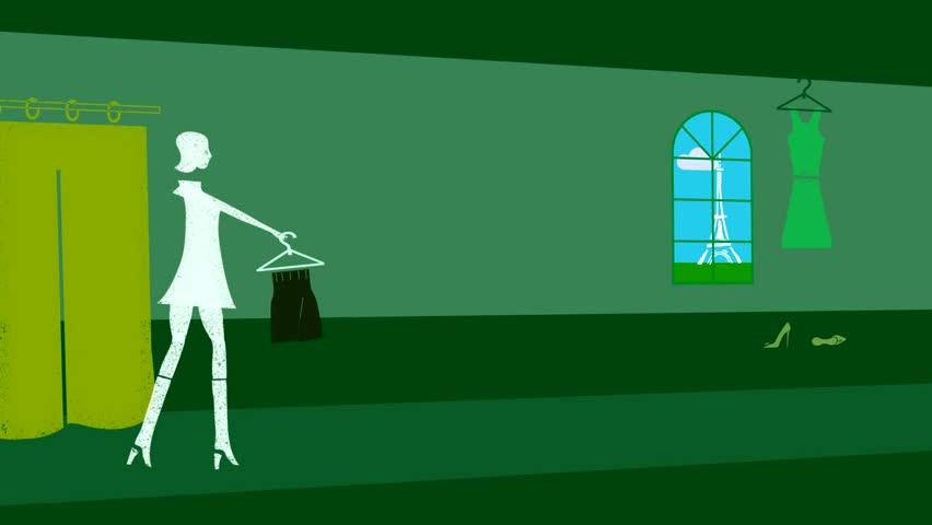 Motion Designer's Toolkit. Green backgrounds. | Shutterstock HD Video #766504
