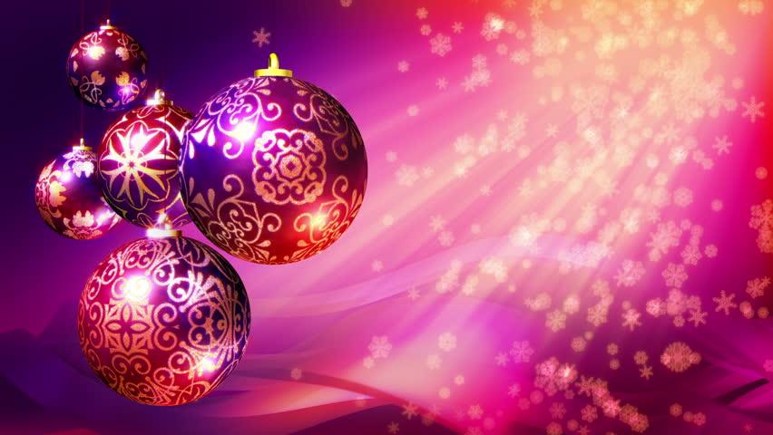 Árbol De Navidad Ilustración 2015 Ultra Hd Wallpapers: Christmas Background Loop. Rotating Christmas Decorations
