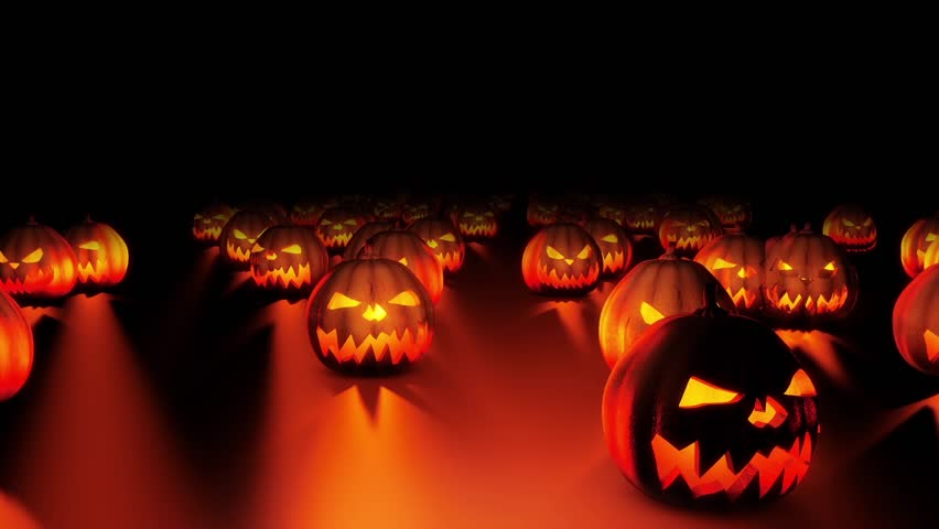 Planet Halloween VJ Loop // This Clip Is From A Collection Of ...