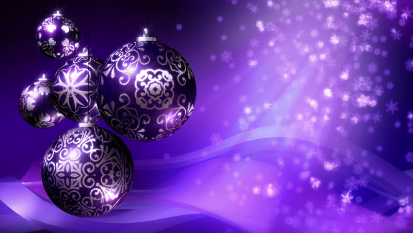 christmas background loop rotating christmas stock footage video 100 royalty free 7736221 shutterstock - Purple And Silver Christmas Decorations