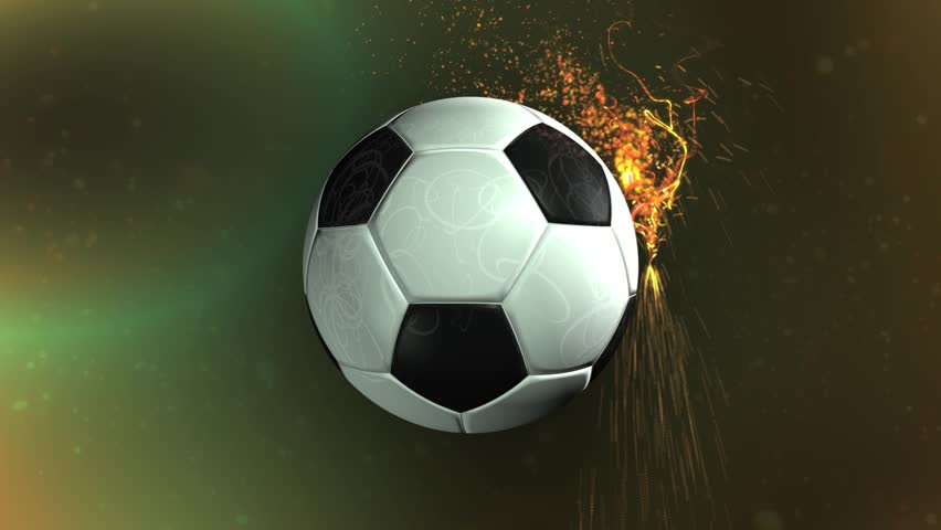 soccer ball background 1 stock footage video 2225128