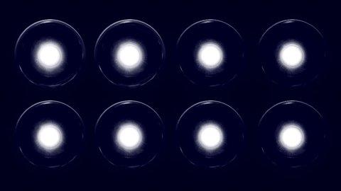 Rhythmic bulb backlight scene ( Series 9 + Version from 1 to 14 )