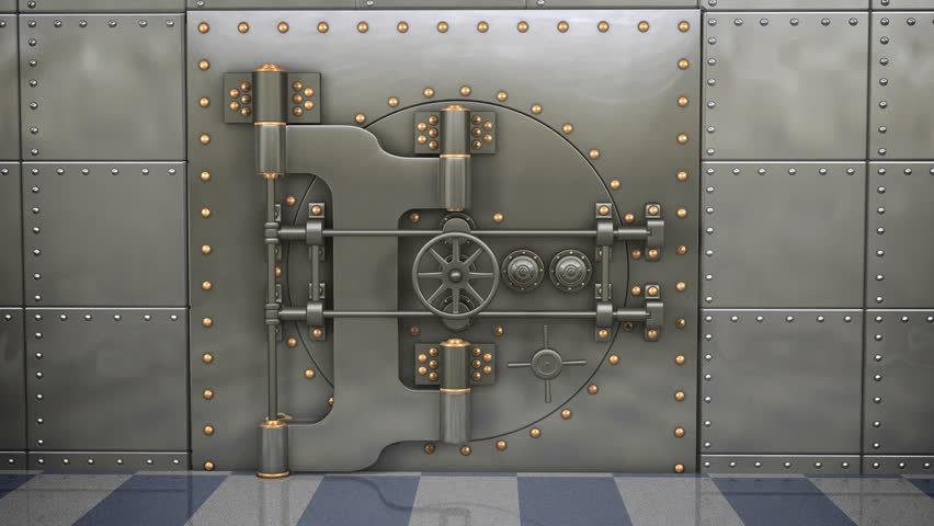 Full 1080p video of a bank vault opening with bright light beams shooting out as the & Bank Vault Door Buildings/Landmarks Stock Footage Video | Shutterstock