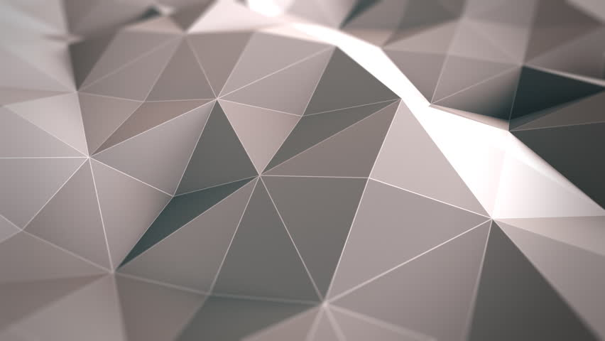 Abstract background - Polygon waves.