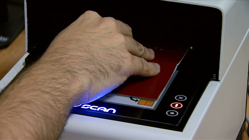 MONTENEGRO - PODGORICA 2008 - Checking the passports at the airport