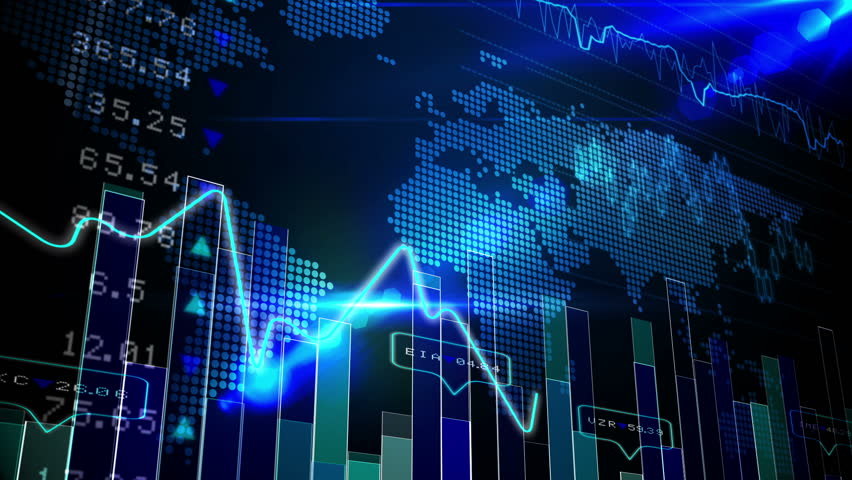 Forex Stock Market Abstract Background. Finance Chart