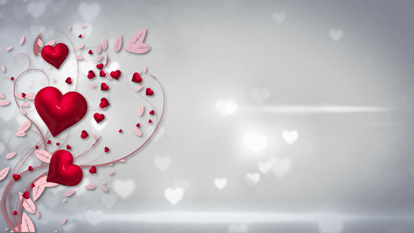 Stock video clip of digital animation of valentines day vector with shutterstock - Background for valentine pictures ...