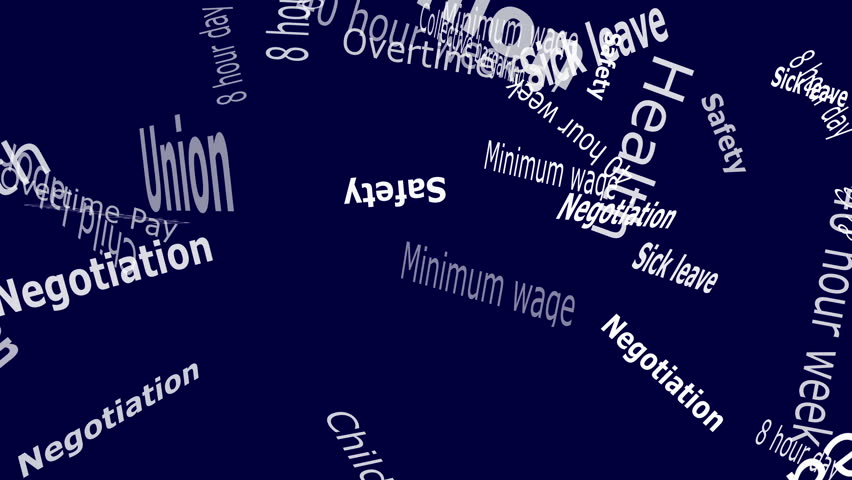 Union Falling Words White Letters Stock Footage Video (100% Royalty-free)  8473231 | Shutterstock