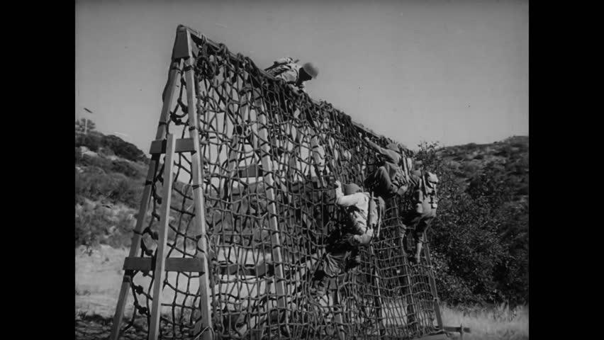 Rope ladder climbing training