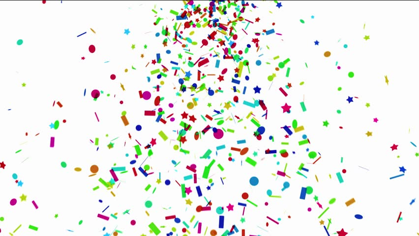 Colorful Confetti Stock Footage Video (100% Royalty-free) 8552281 |  Shutterstock