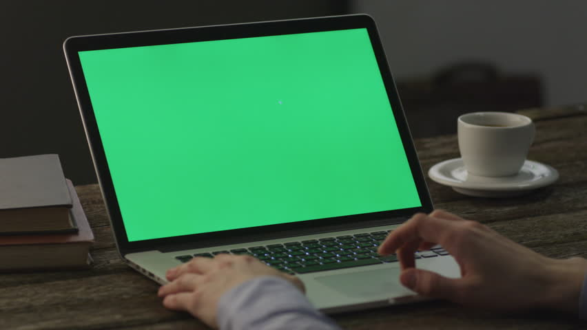 Using Notebook at Home. Causal Lifestyle. Great for Mock-up usage. Shot on RED Cinema Camera in 4K (UHD). ProRes codec  - Great for editing, color correction and grading. | Shutterstock HD Video #8563414