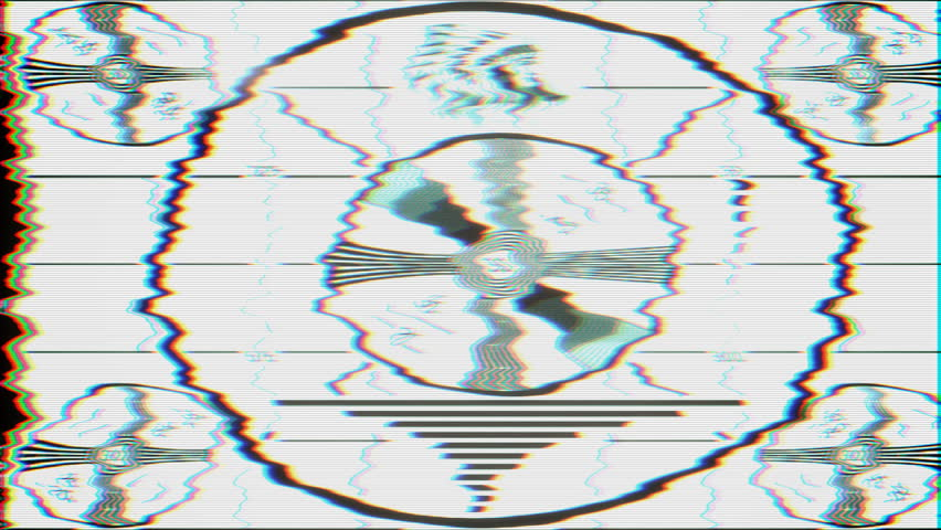 Disconnected Broken Stock Video Footage 60K And HD Video Clips Classy Test Pattern