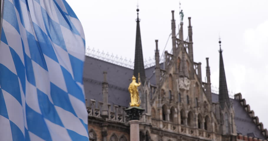 Flags Bavarian Gothic Style Stock Video Footage - 4K and HD Video Clips |  Shutterstock