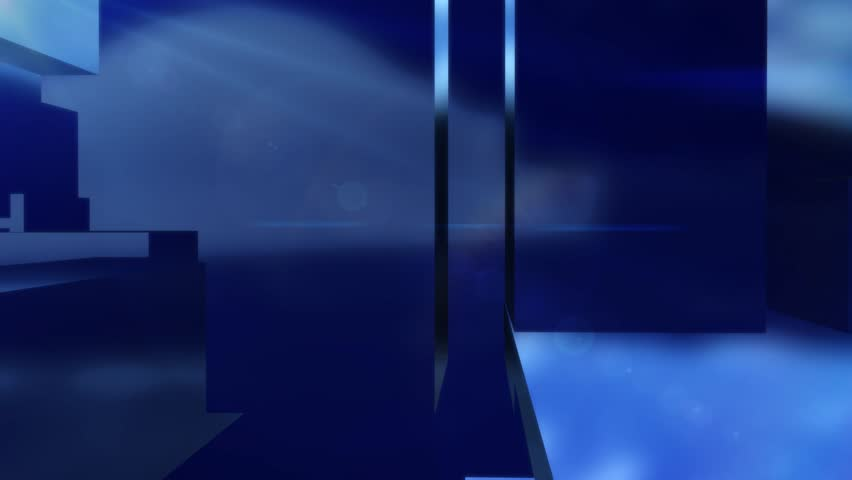 News style virtual studio abstract motion blue background | Shutterstock HD Video #8599711