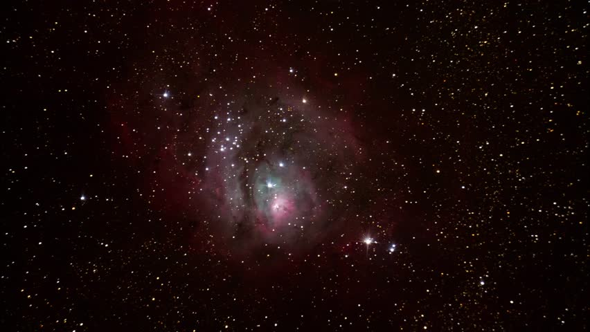 Space Nebula Galaxy Universe Fly Through Seamless Looped