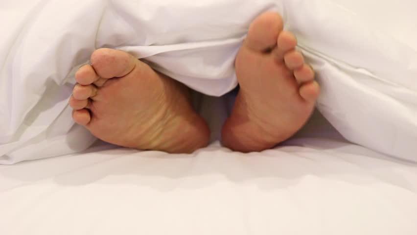 Chinese Nylon Feet Tickle